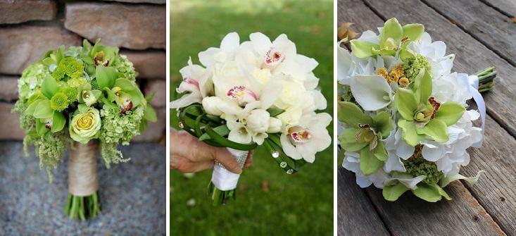 menyasszonyi csokor orchidea