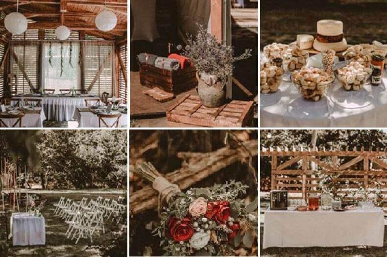 rusztikus esküvői helyszínek