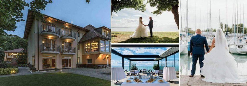 vízparti esküvő helyszínek