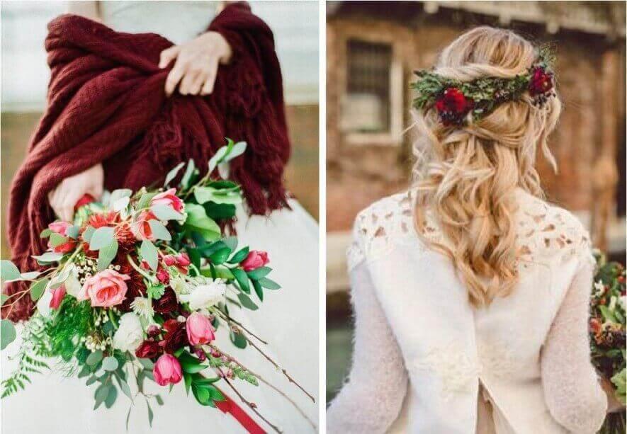esküvői hajdísz virág