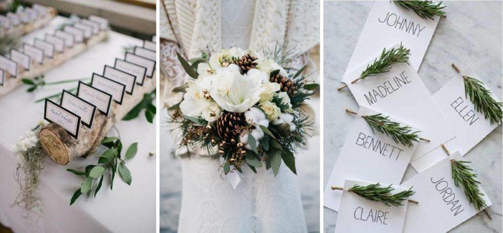 téli esküvői ültetőkártya rendelés