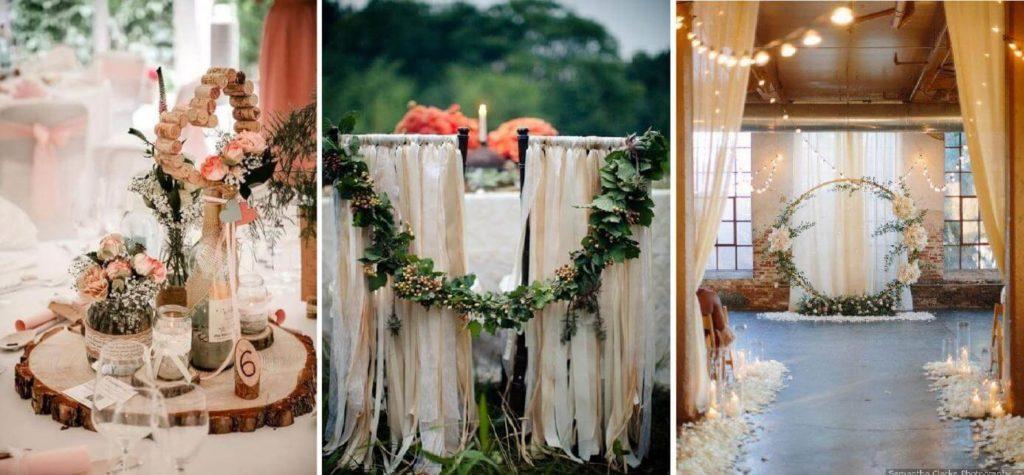 Esküvői terem dekoráció ötletek