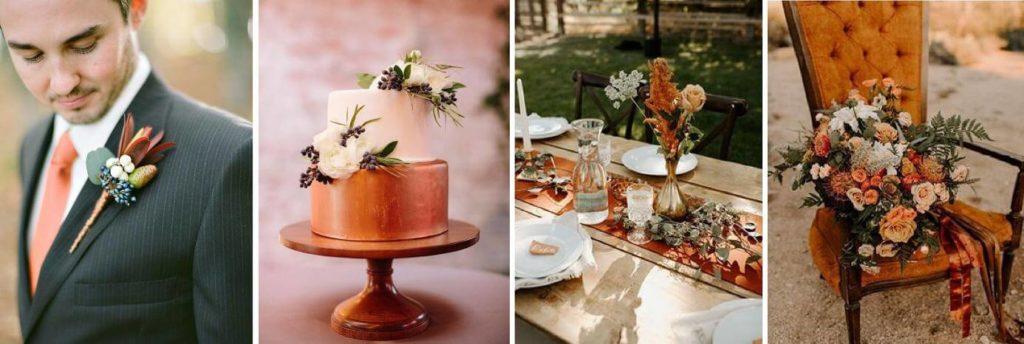 helyszínhez illő esküvői dekoráció
