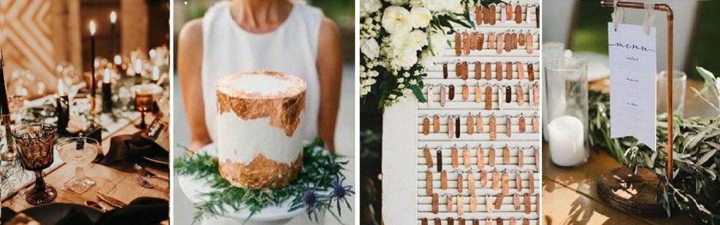 környezettudatos esküvői dekor