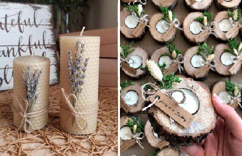 hulladékmentes esküvői dekor